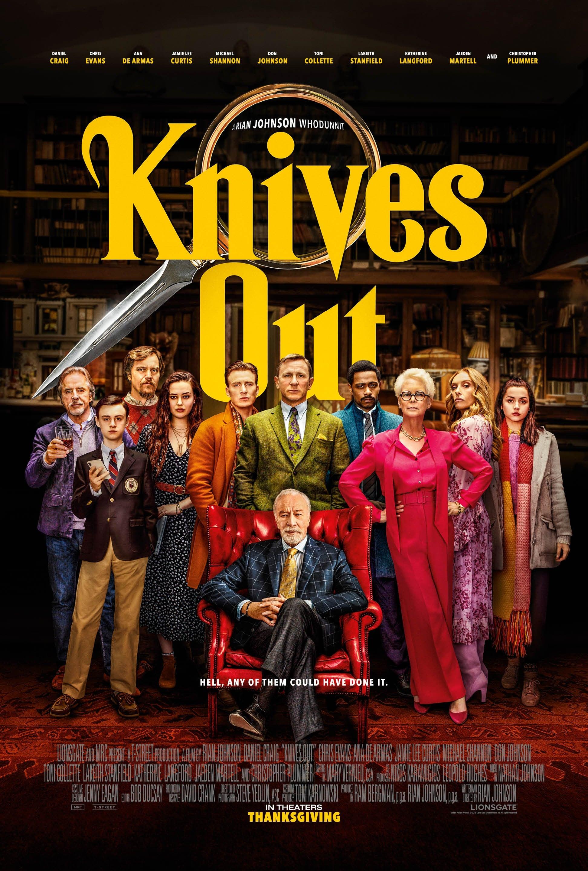 review phim Knives out (dan dien vien trong phim) - elle man 1.1