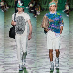 Rộn ràng sắc màu phái mạnh trong BST Dior Men Pre-fall 2020