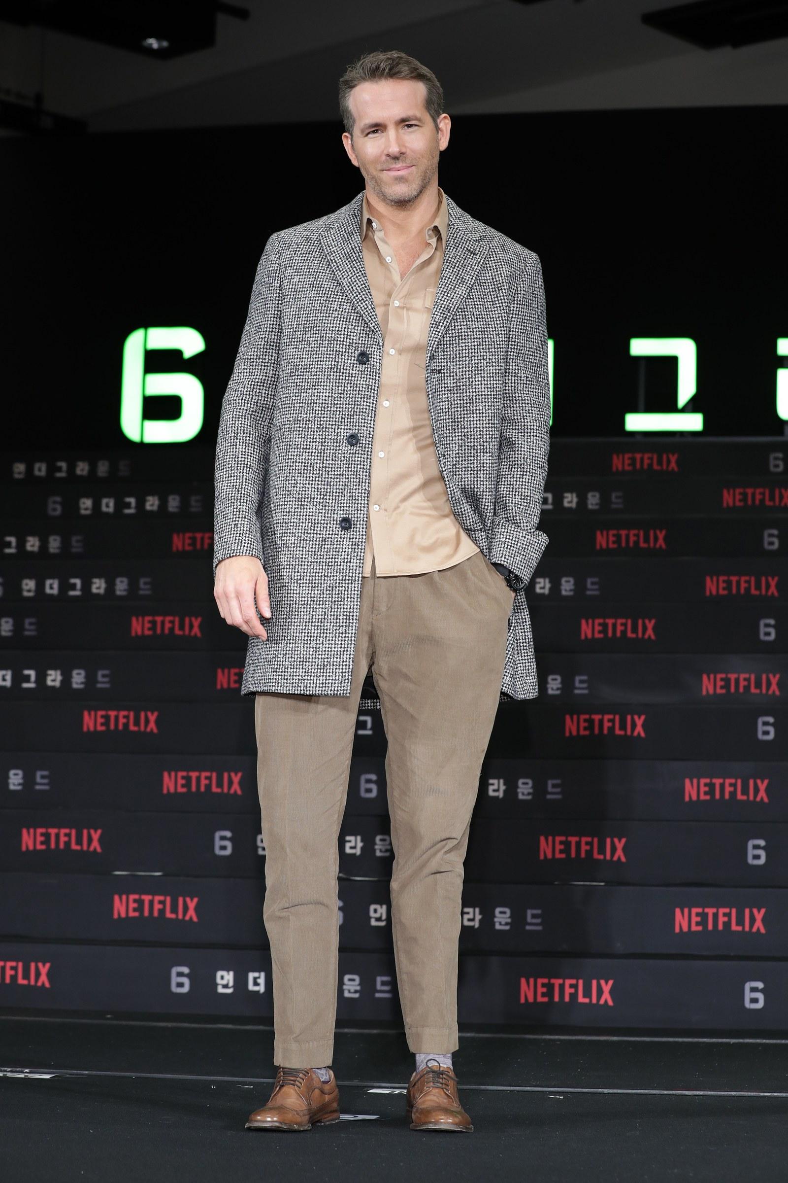 diễn viên Ryan Reynolds