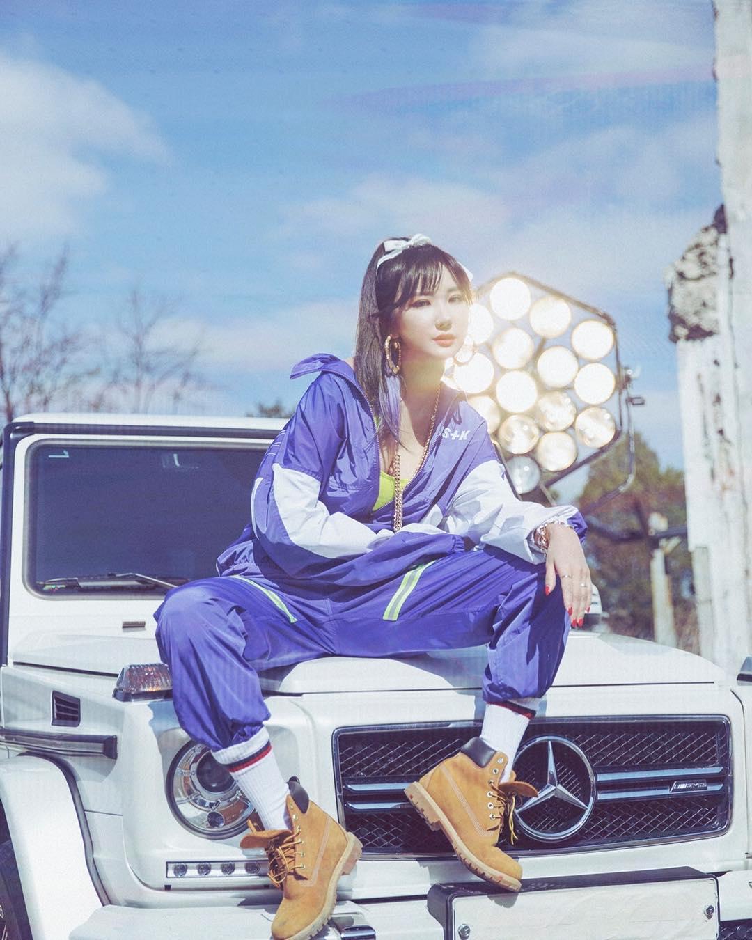 nữ rapper le exid