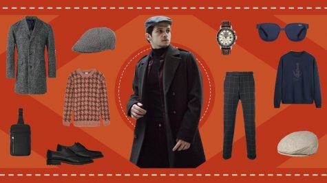 ELLE Man Style Calendar: Tạo điểm nhấn cổ điển với mũ flat cap
