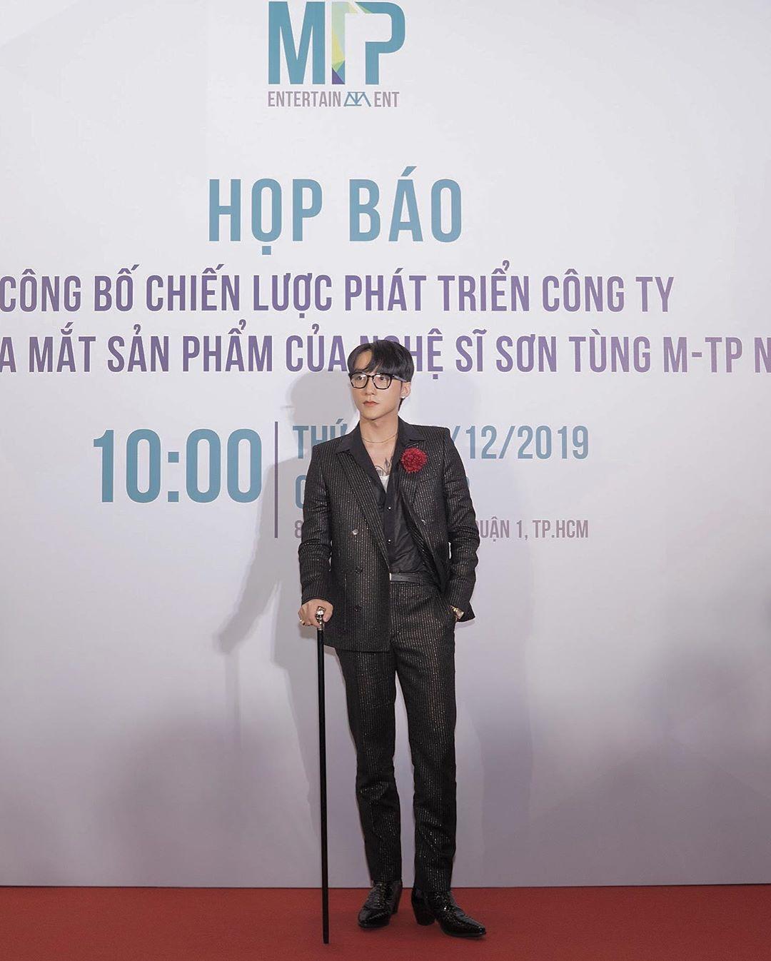 Sơn Tùng MTP - sao nam mặc đẹp tuần 3 tháng 12