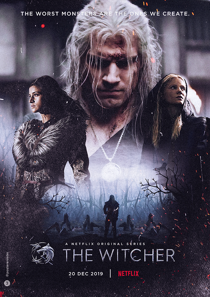 phim the witcher - poster - elle man 1