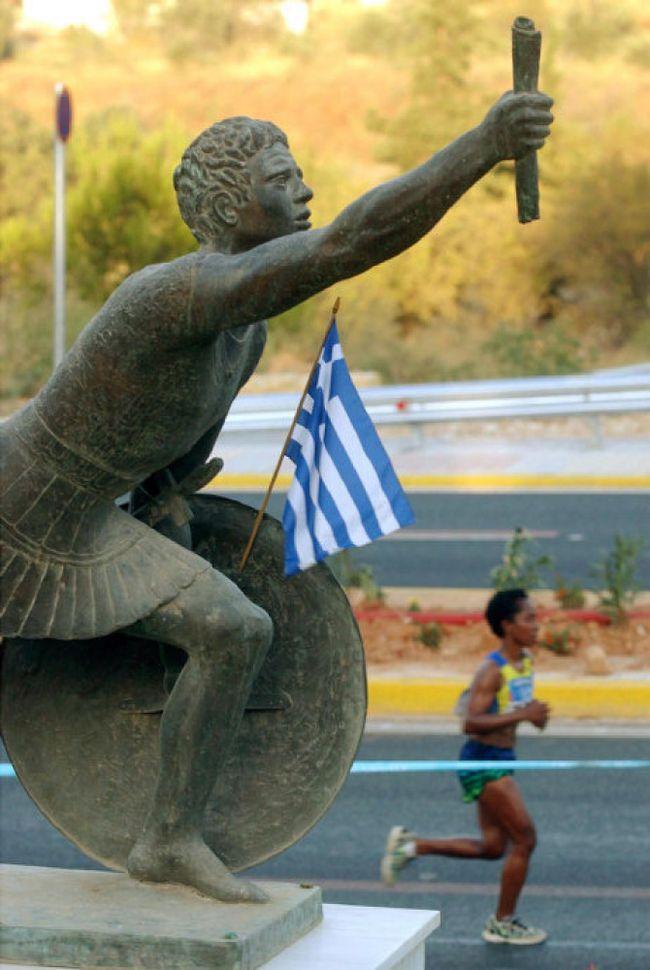 chay bo marathon - pheidippides - elle man