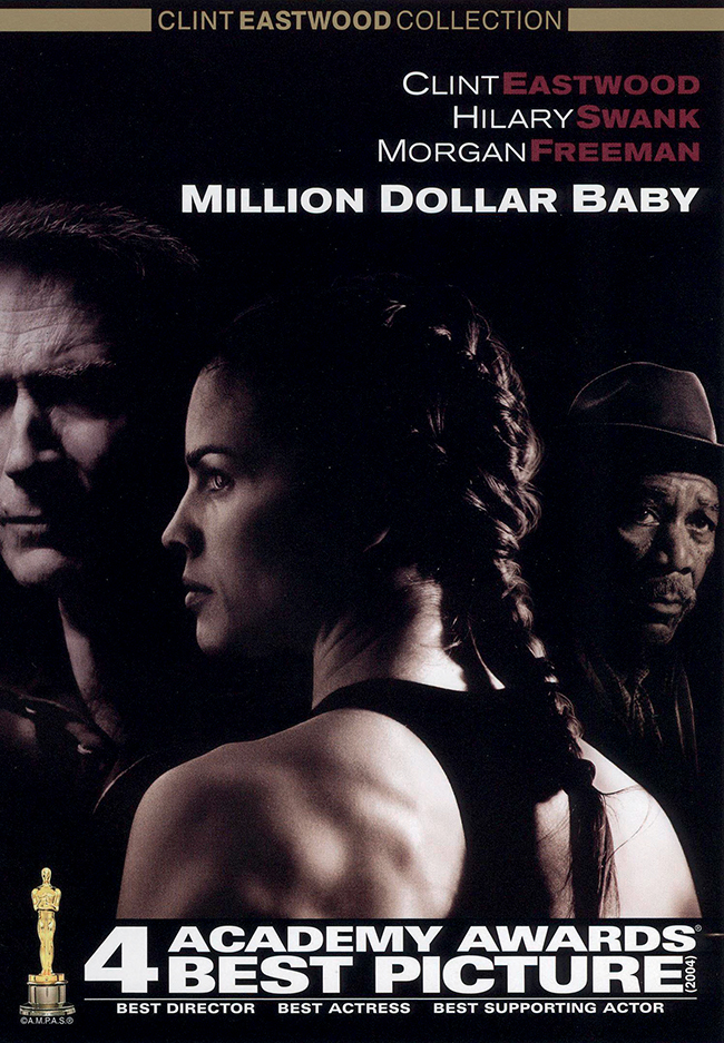 "Hilary Swank trong ""Million Dollar Baby"""