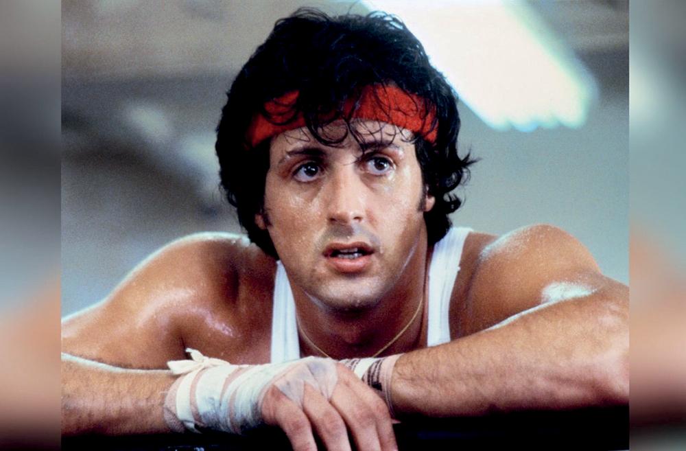 """Sylvester Stallone với vai diễn để đời trong """"Rocky""""."""