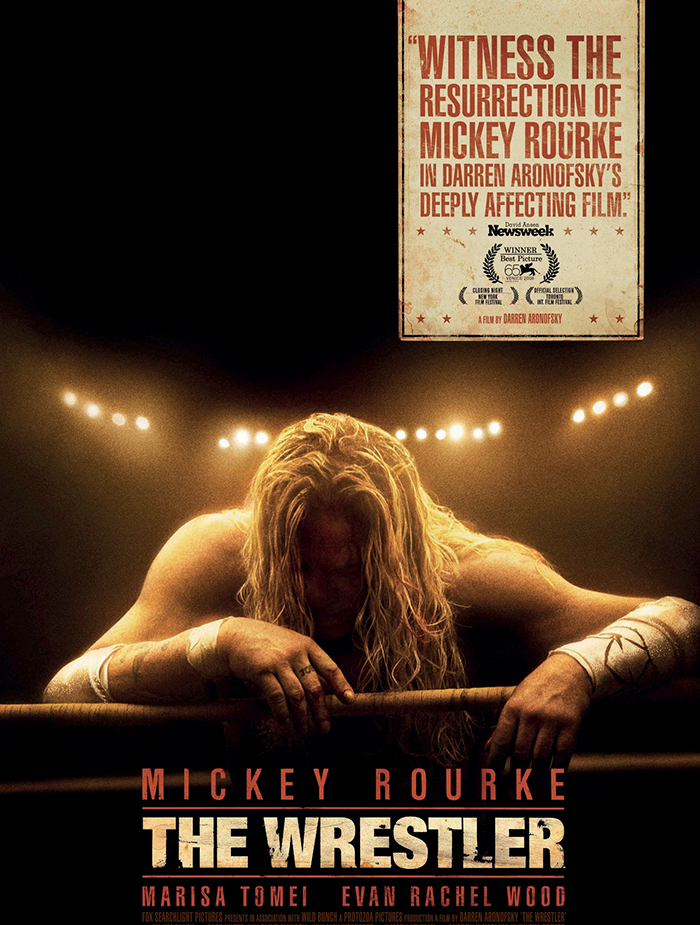 "Mickey Rourke trong ""The Wrestler"""
