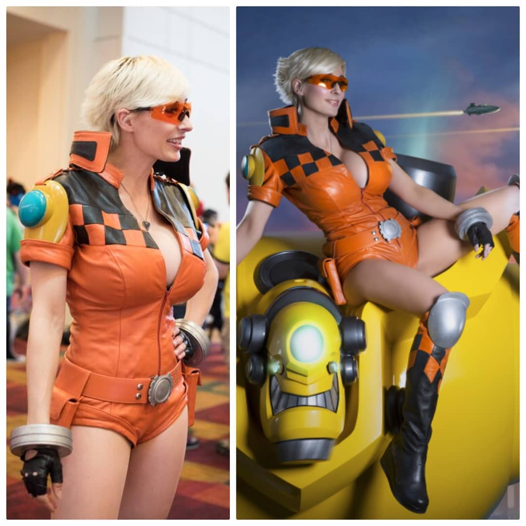 nữ cosplay marie gợi cảm