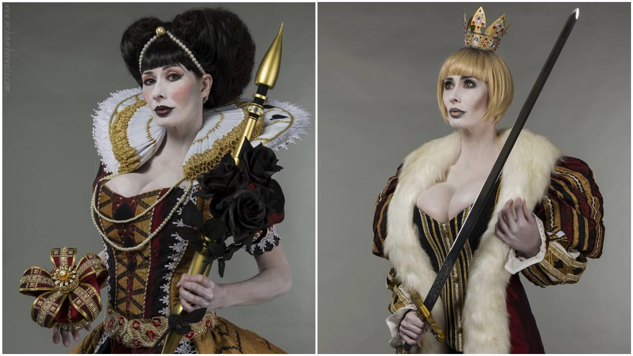 nữ cosplay marie nữ hoàng