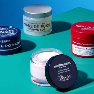 10 loại pomade vuốt tóc tốt nhất hiện nay - P.1: Pomade gốc nước