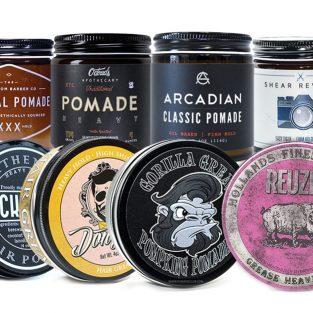 10 loại pomade vuốt tóc tốt nhất hiện nay - P.2: Pomade gốc dầu