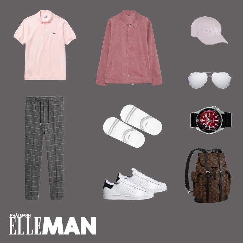 outfit 1 - quần áo màu pastel