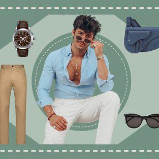 ELLE Man Style Calender: Gợi ý phối quần áo màu pastel trẻ trung, năng động
