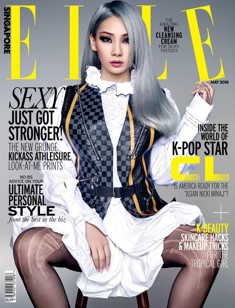 lee chae lin - elle singapore