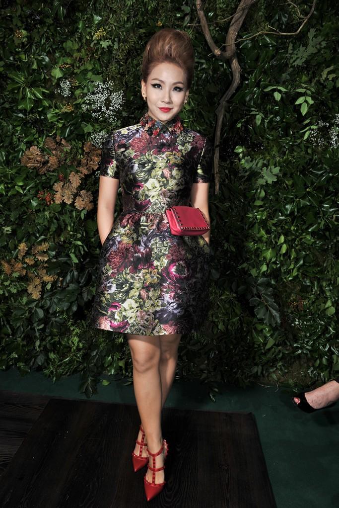 lee chae lin - valentino haute couture