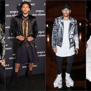 """Gu thời trang Neymar Jr. - Đẳng cấp của """"ông hoàng"""""""