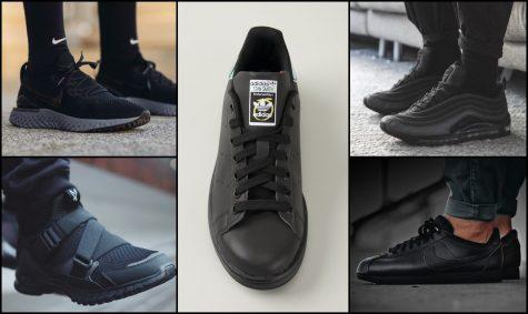 12 mẫu giày sneaker đen có thể phối với mọi outfit