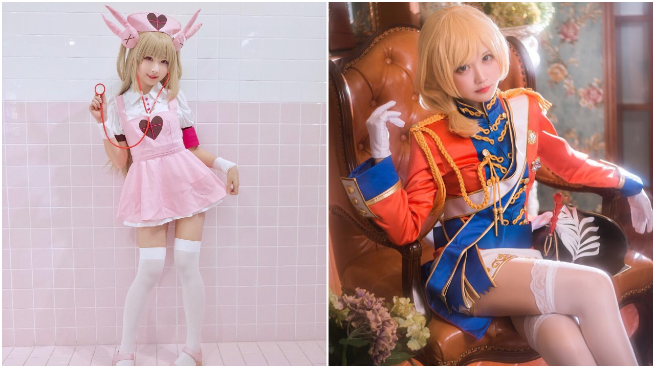 nữ cosplay 2 - aliga xinh đẹp