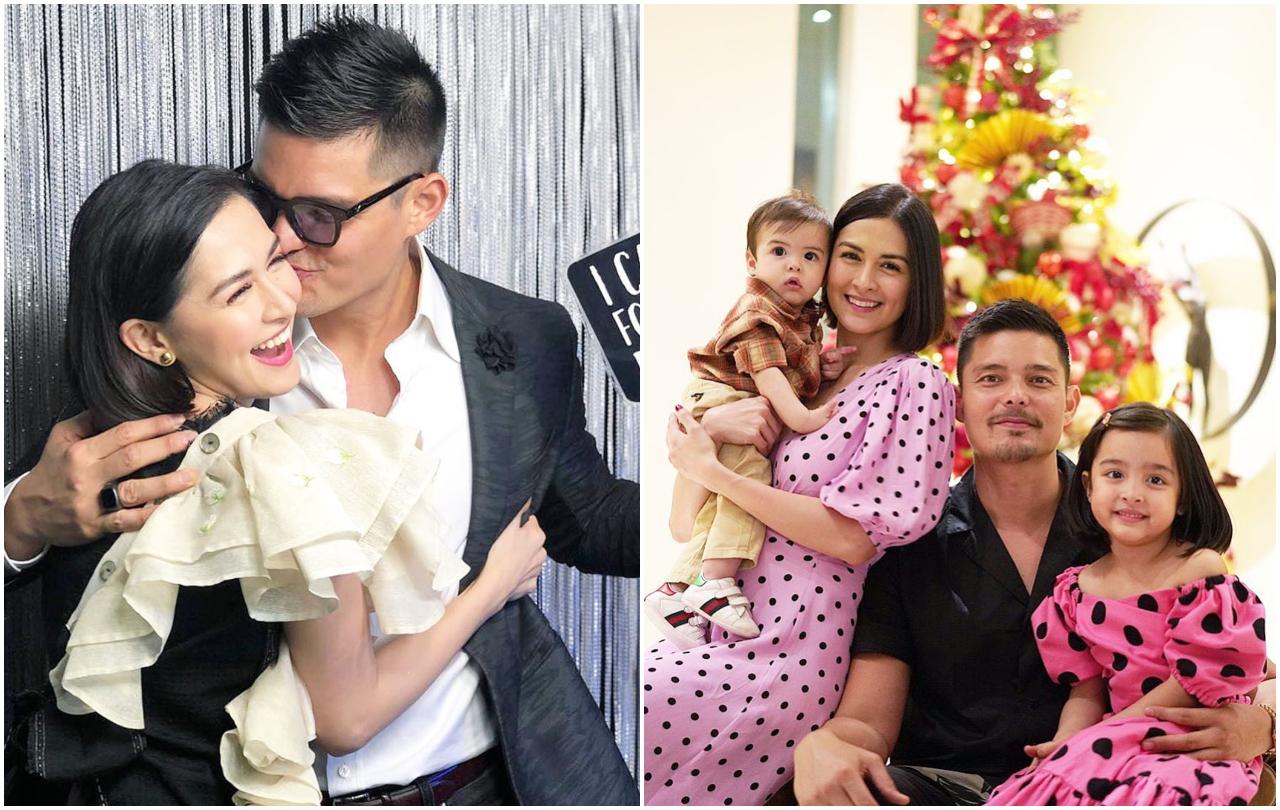 diễn viên philippines - marian và gia đình
