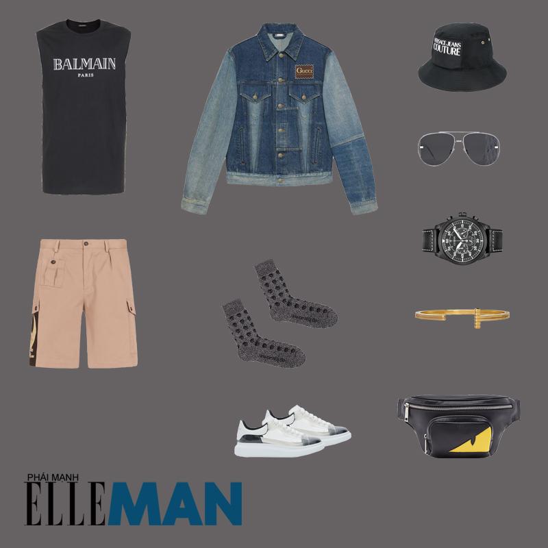 outfit 3 - phối đồ với túi crossbody