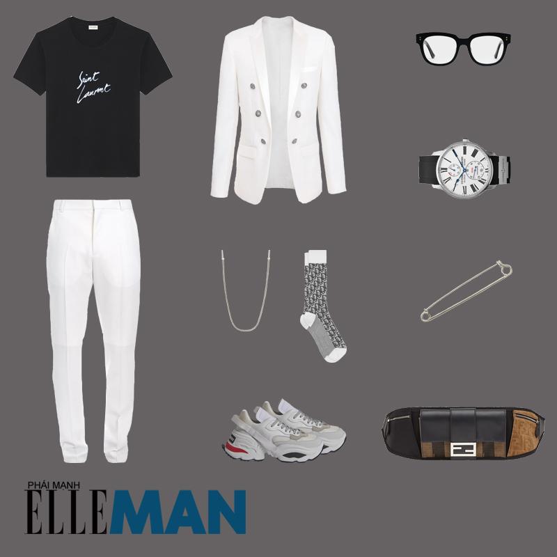 outfit 5 - phối đồ với túi crossbody