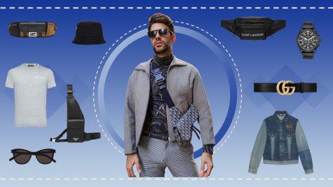 ELLE Man Style Calendar: Tìm công thức chuẩn phối đồ với túi crossbody