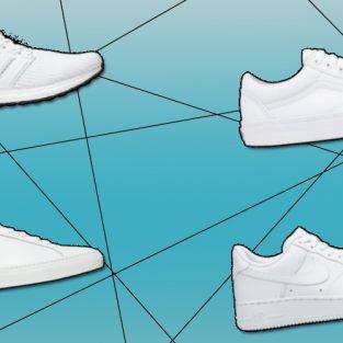 12 giày sneaker trắng không bao giờ lỗi mốt