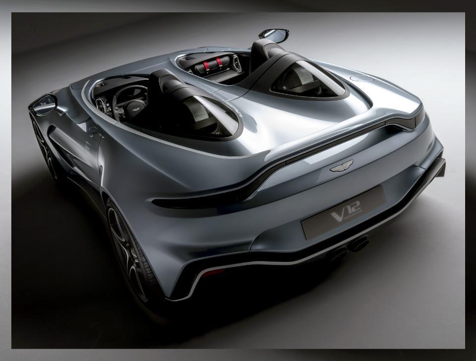 sieu xe hoi geneva 2020 - Aston Martin V12 Speedster - elle man 1