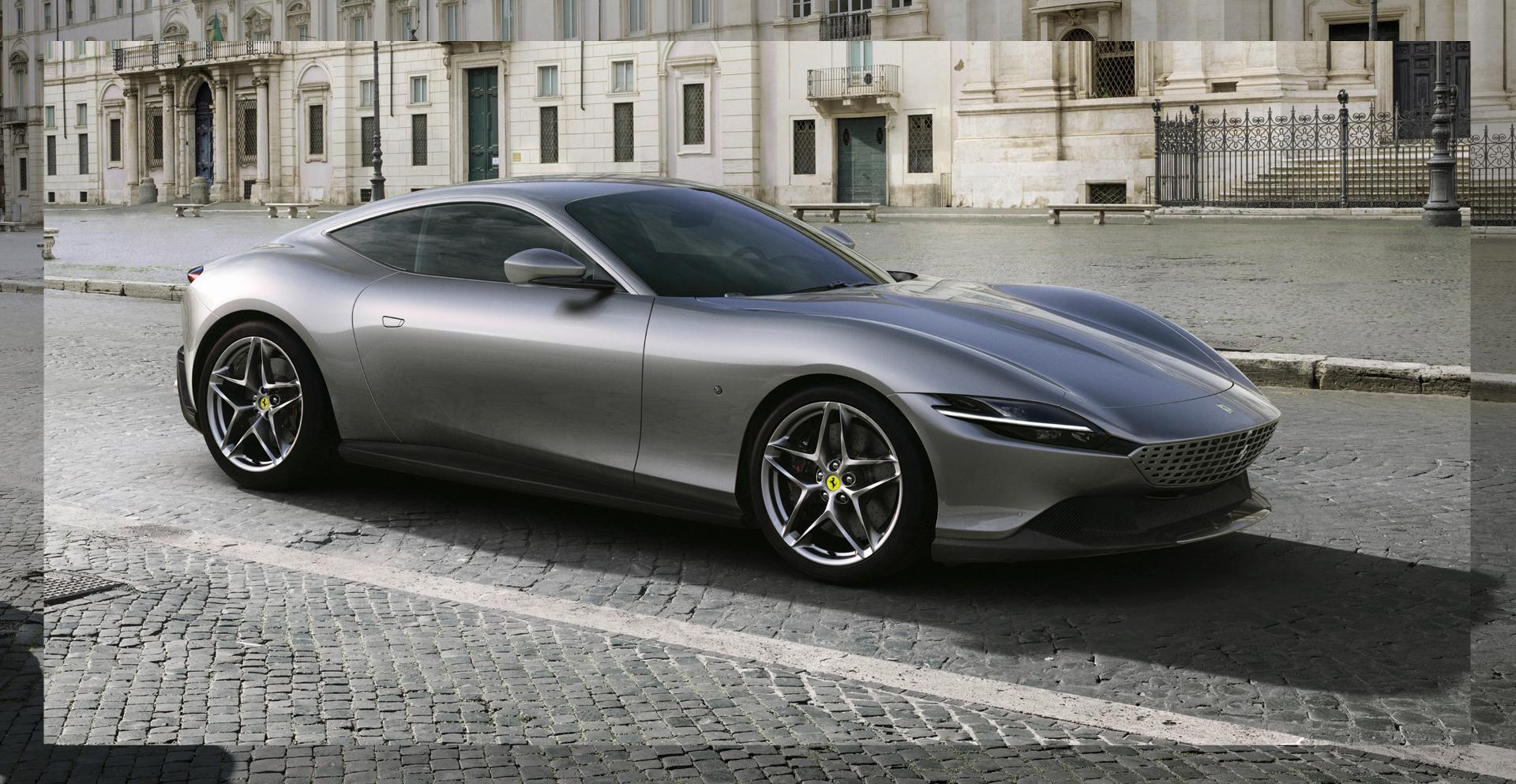 sieu xe hoi geneva 2020 - Ferrari Roma - elle man 1