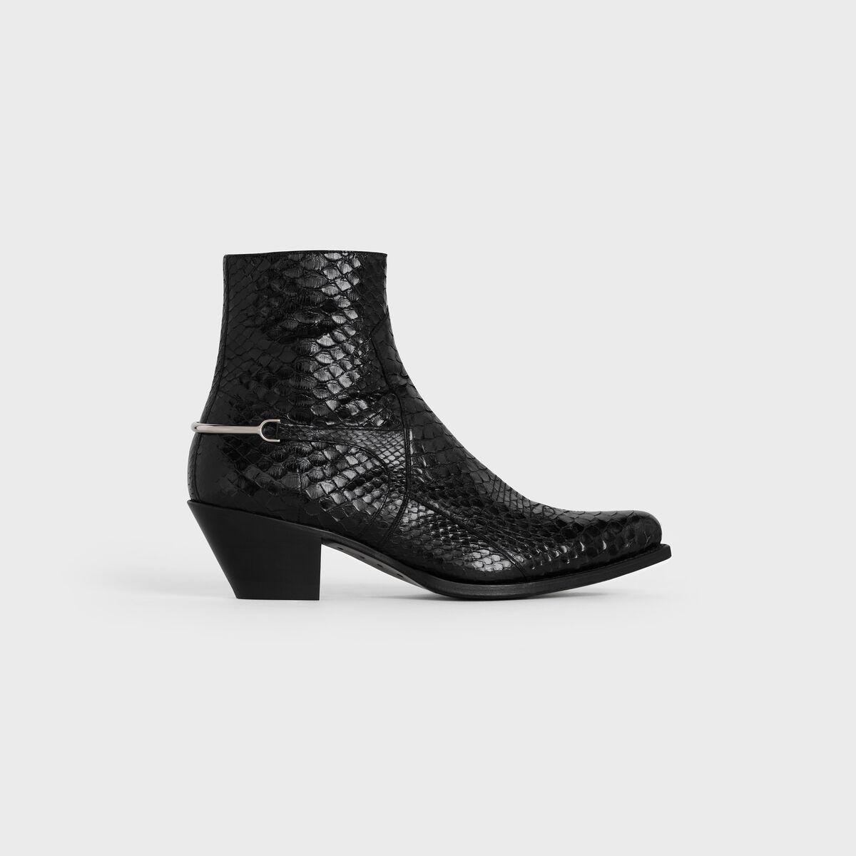 Celine Berlin Cavalry Zipped Boots - elle man