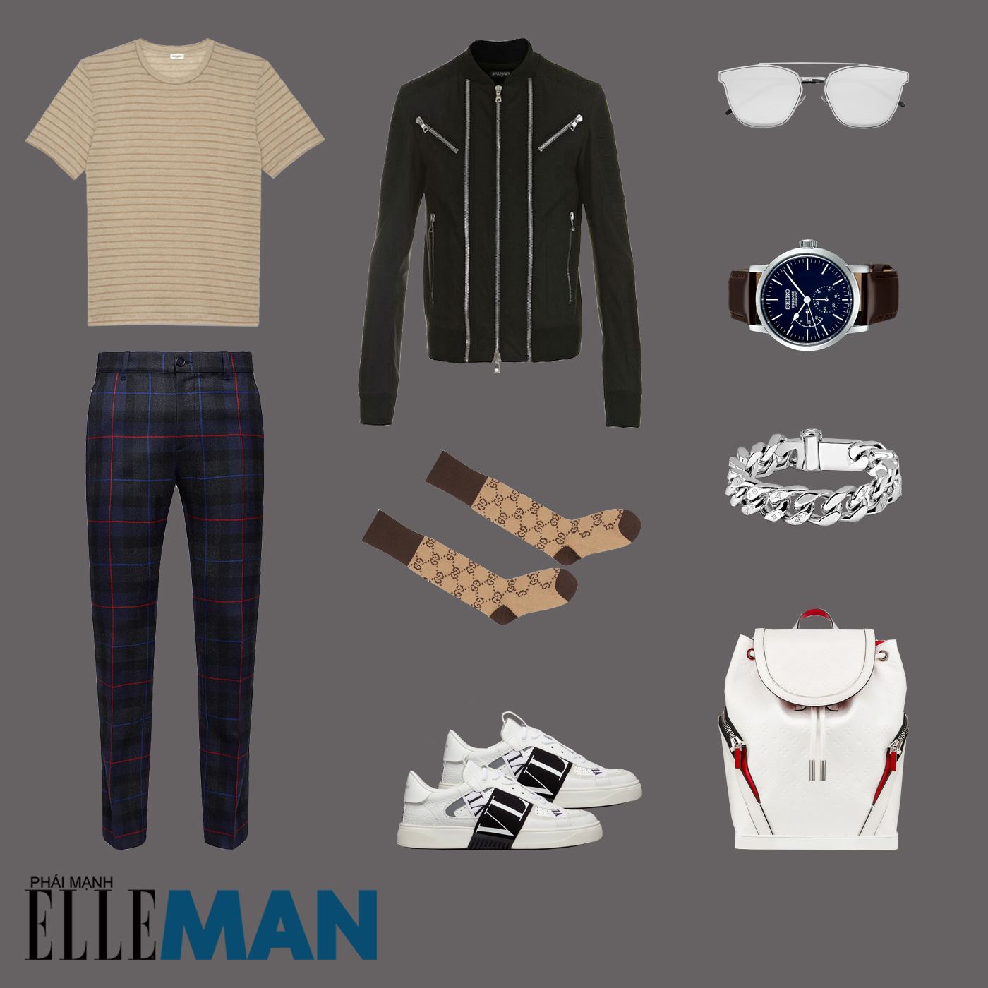 outfit 1 - phối đồ phong cách smart-casual