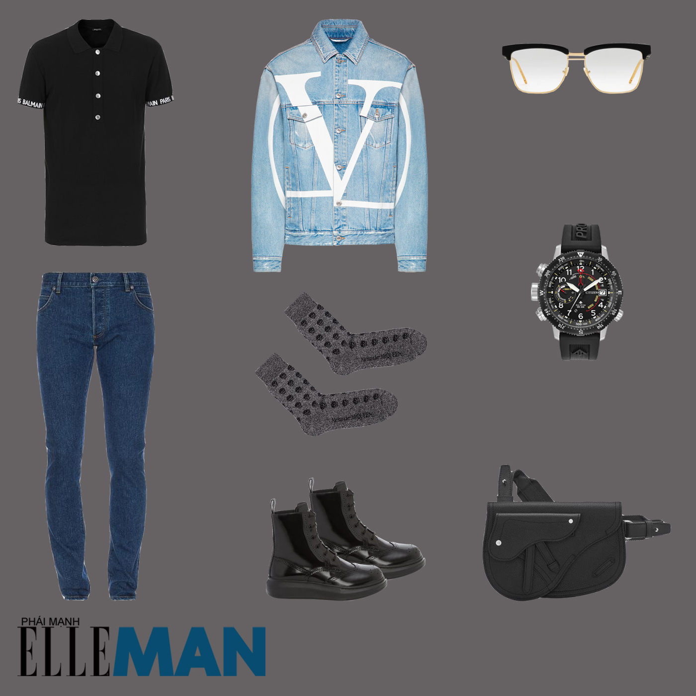 outfit 3 - phối đồ phong cách smart-casual