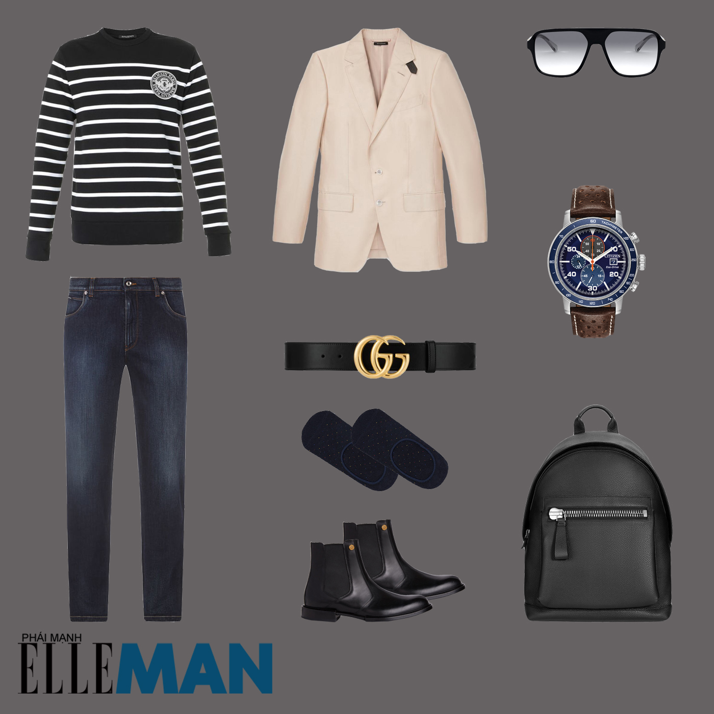 outfit 4 - phối đồ phong cách smart-casual