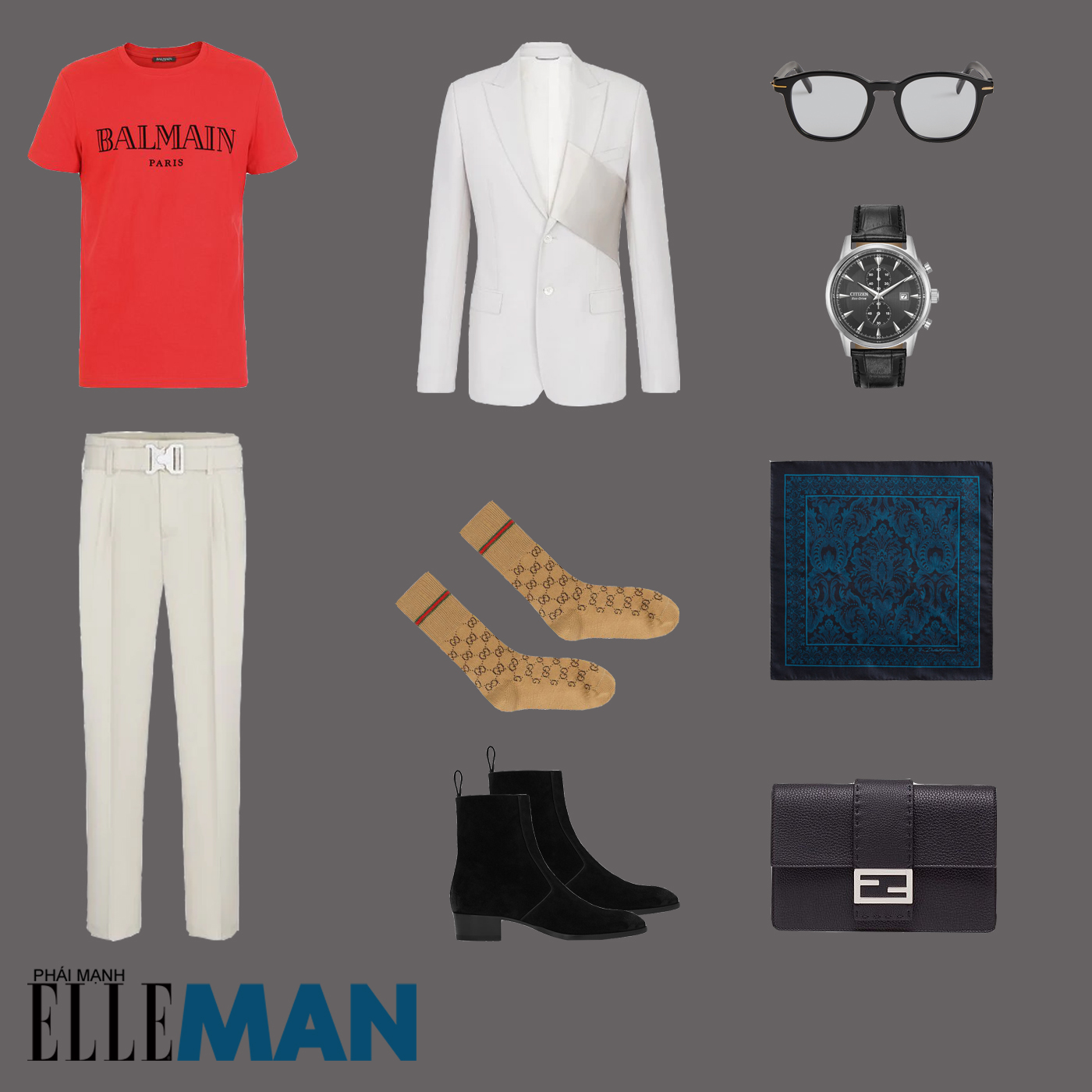 outfit 5 - phối đồ phong cách smart-casual