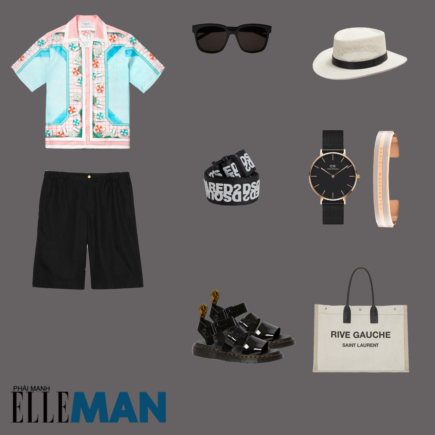 outfit 2 - phối đồ với áo sơ mi bowling