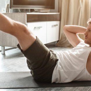 10 phút tập thể dục thân dưới nhẹ nhàng tại nhà