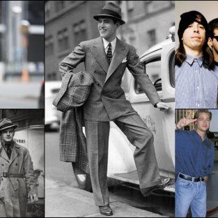 Phong cách thời trang nam thay đổi như thế nào trong 100 năm qua?