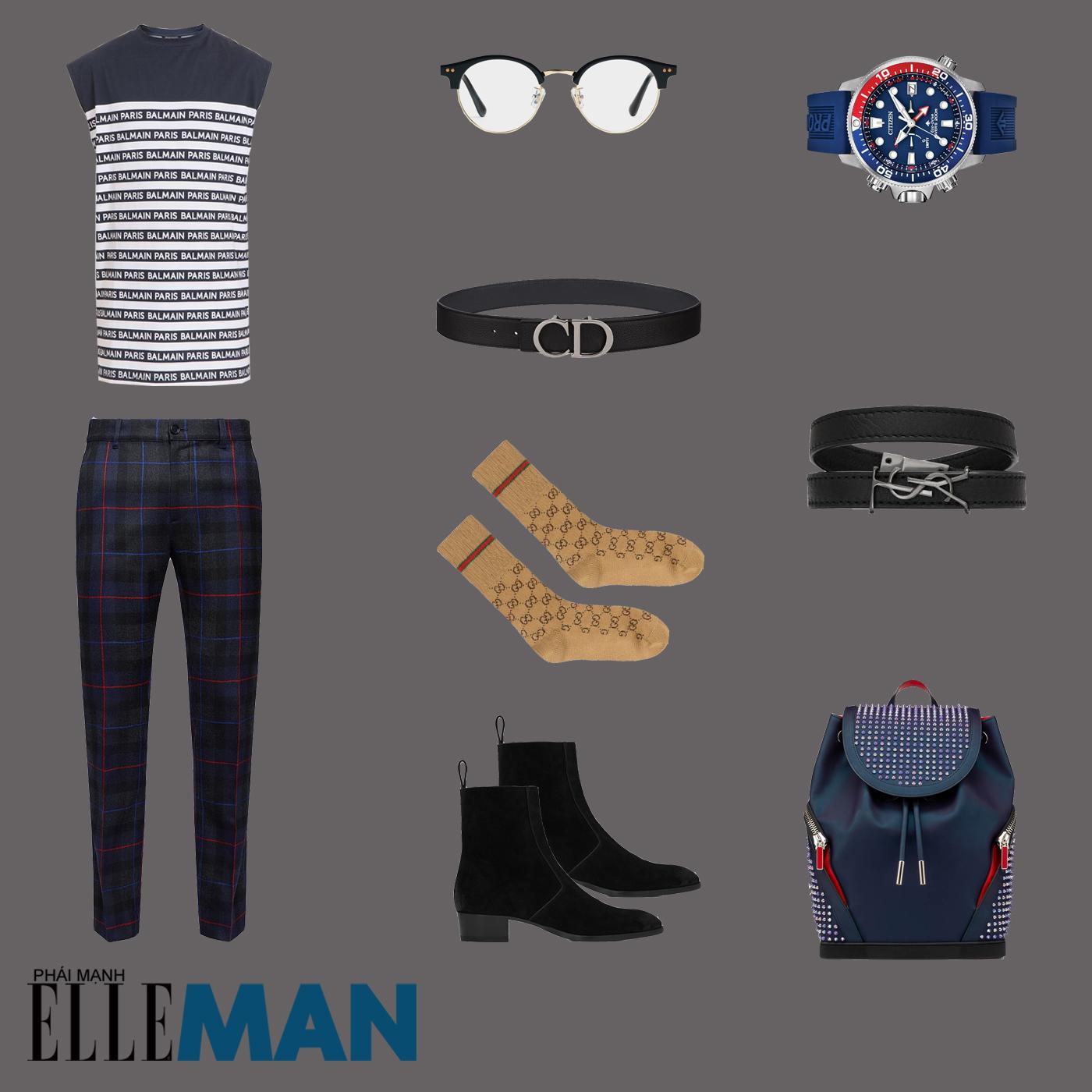 outfit 4 - phối đồ với áo tank top