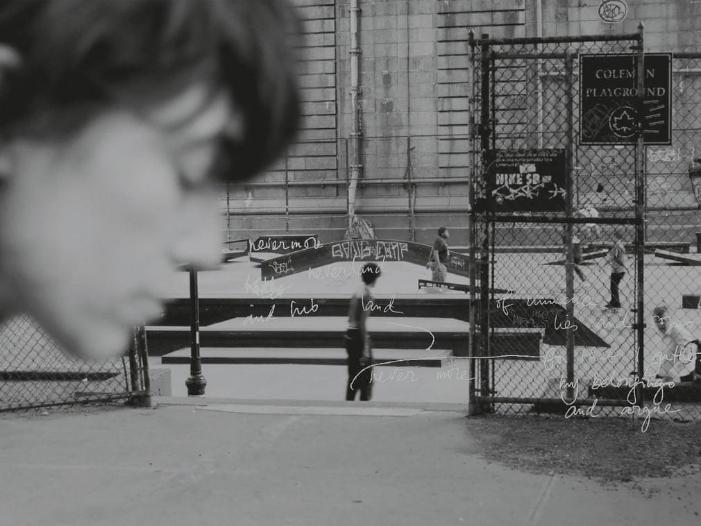 Self-portrait Lower East Side Coleman Skate-park New York - elle man