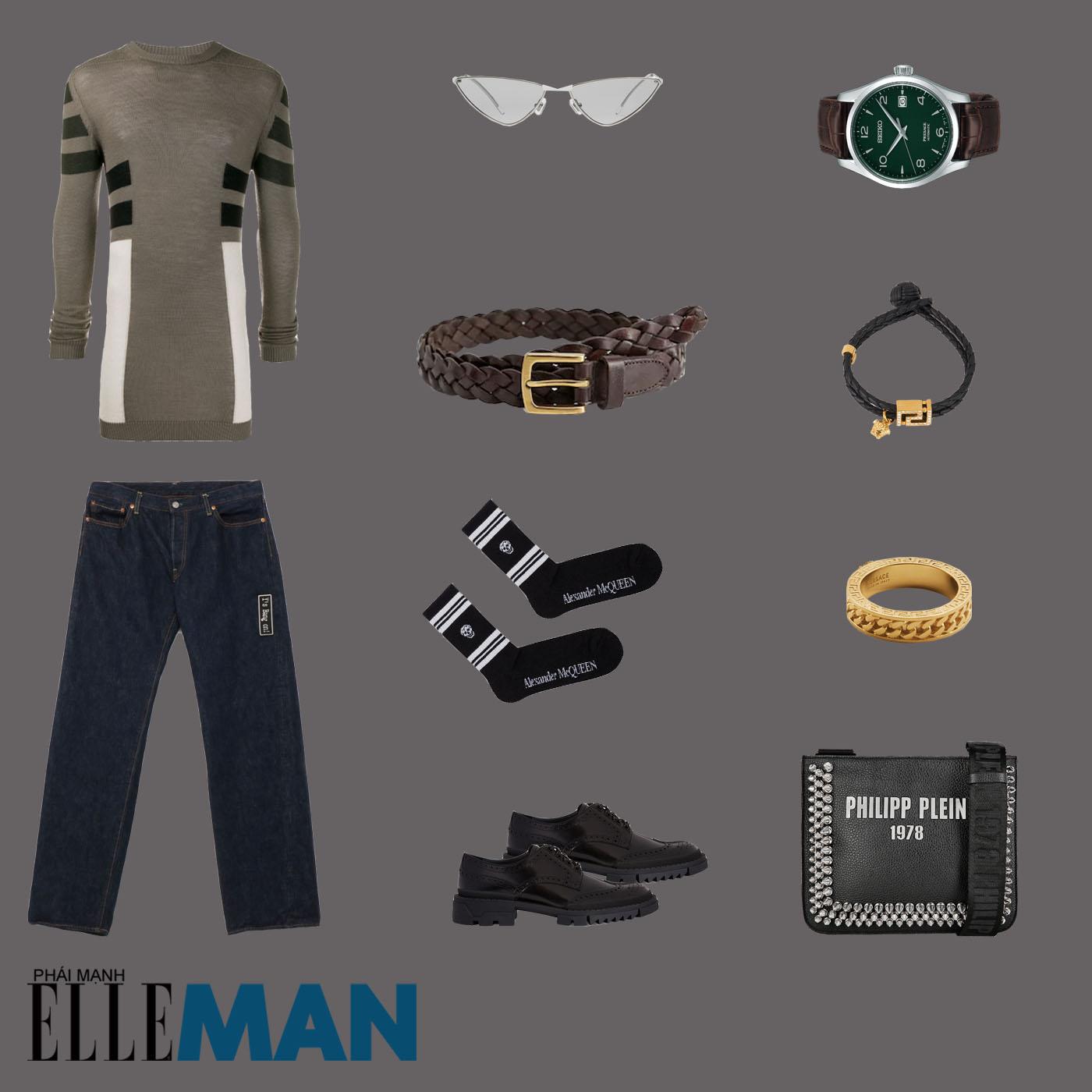 outfit 1 - phối đồ phong cách boho-chic