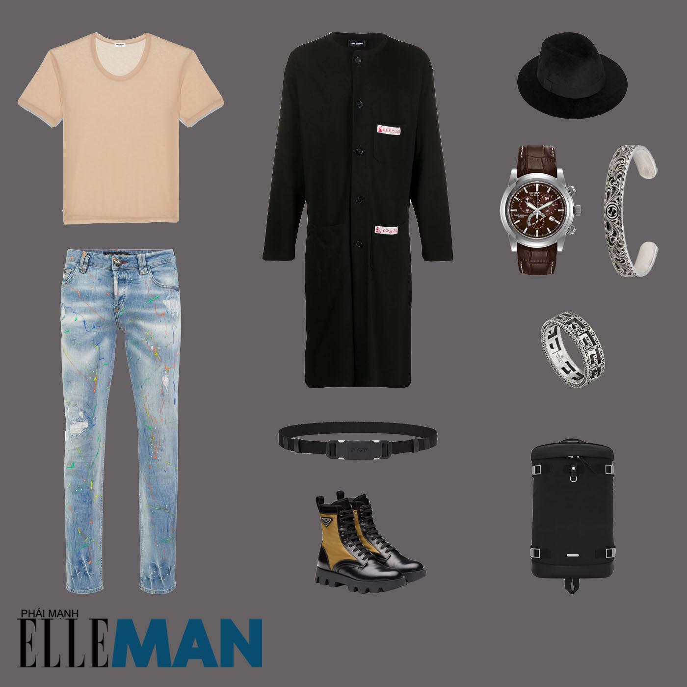 outfit 4 - phối đồ phong cách boho-chic