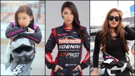 Top 6 nữ tay đua drifter hot nhất châu Á hiện nay