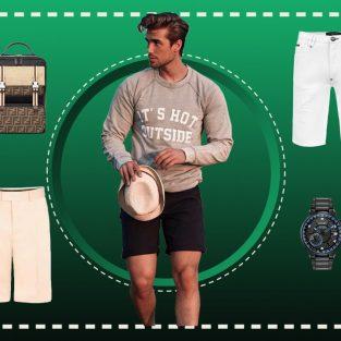 ELLE Man Style Calendar: Muôn kiểu biến hoá cùng quần shorts nam