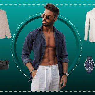 ELLE Man Style Calendar: Hè về, trang phục vải linen lên ngôi