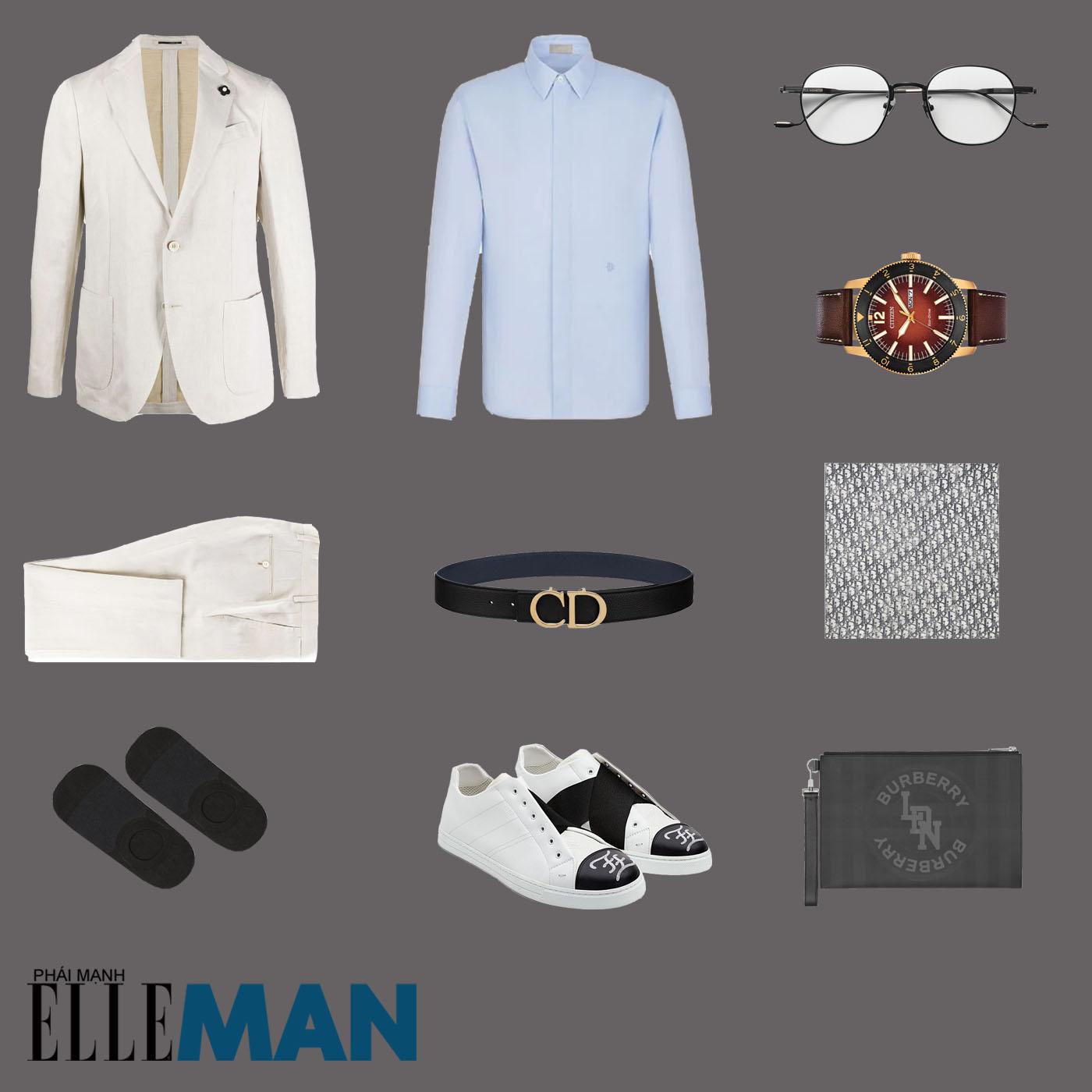 outfit 5 - phối trang phục vải linen