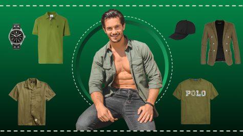 ELLE Man Style Calendar: Giải nhiệt Hè với trang phục tông màu xanh lá