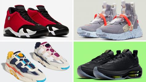 5 phát hành giày thể thao ấn tượng sắp ra mắt (1- 7/7/2020)