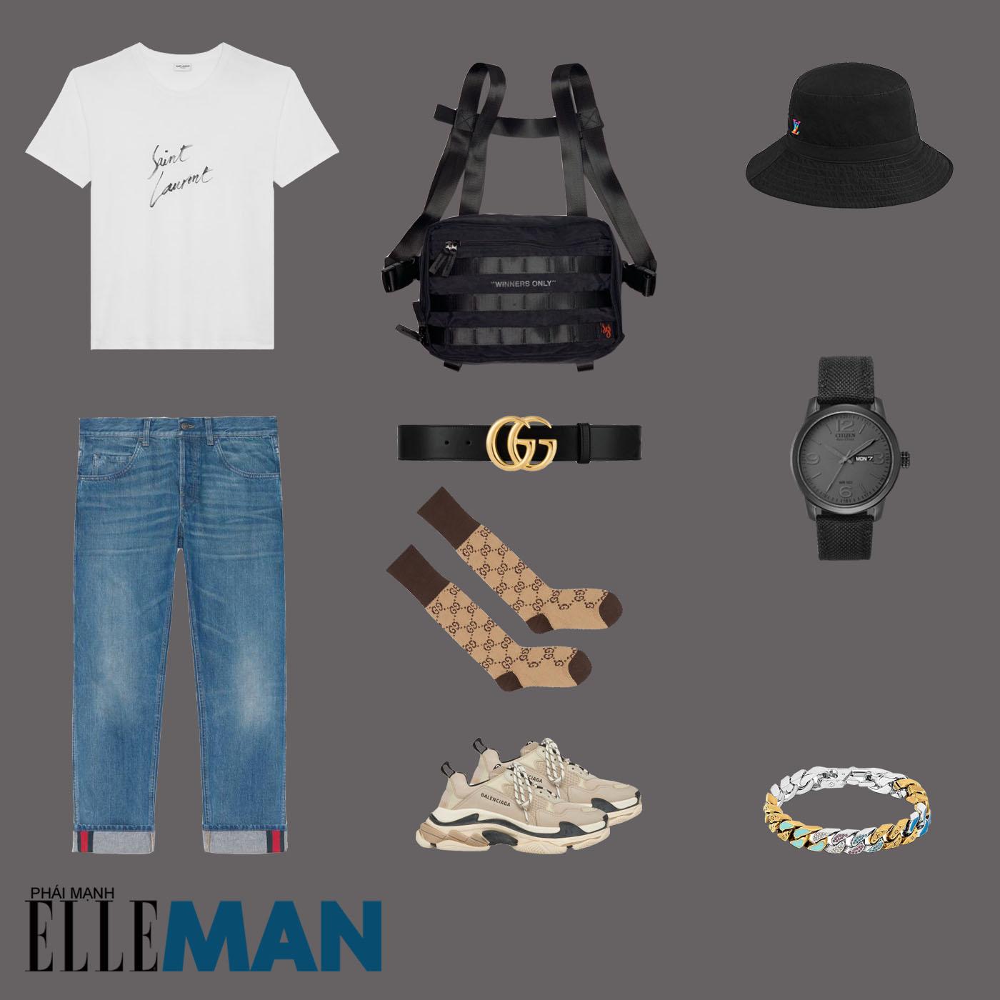 outfit 4 - phối đồ mùa mưa