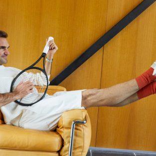 Roger Federer tung ra dòng giày thể thao mới