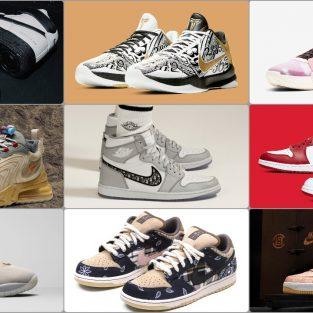 9 đôi giày thể thao Nike đắt đỏ nhất nửa đầu năm 2020